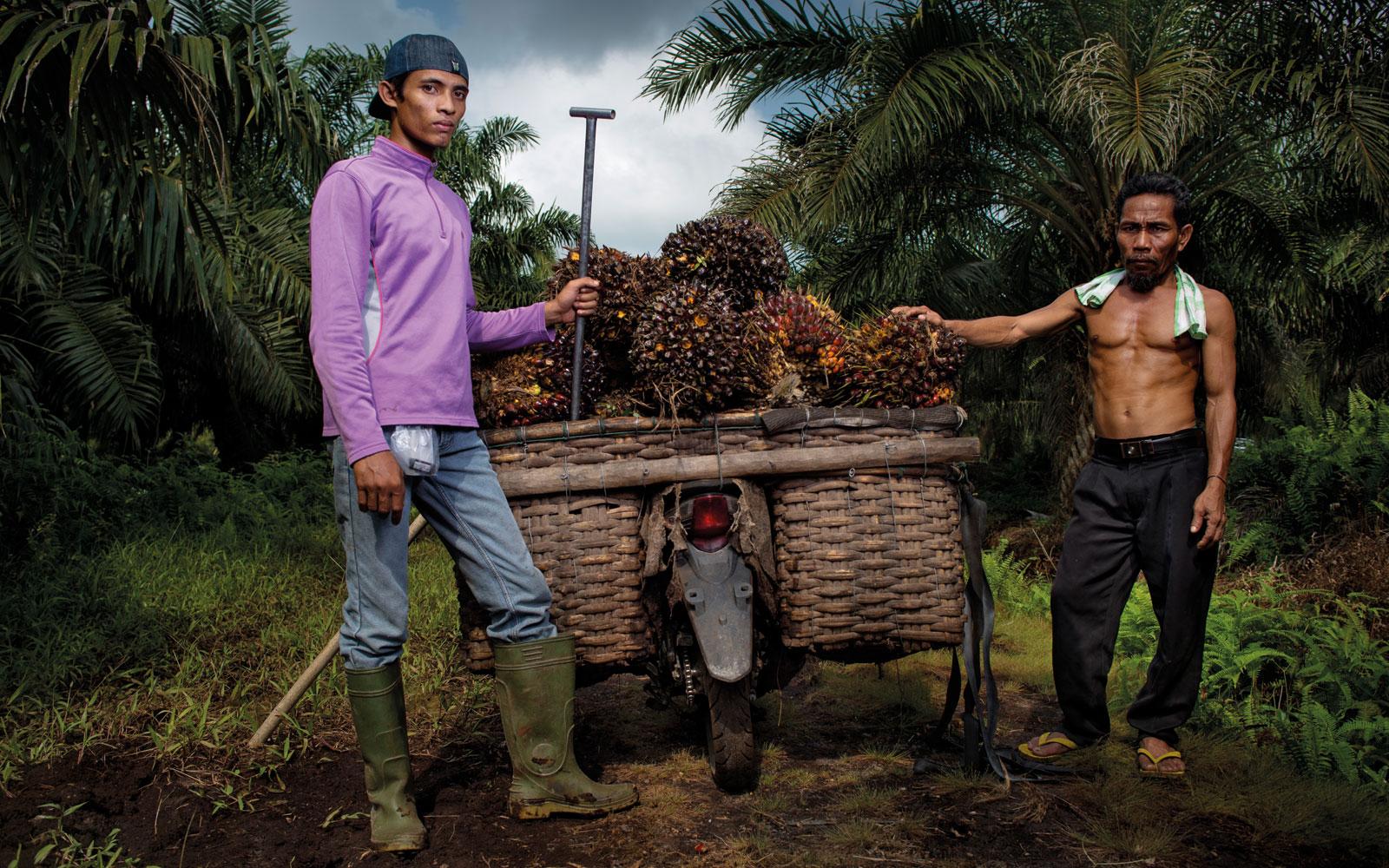 Kamp mot klockan pa sumatra
