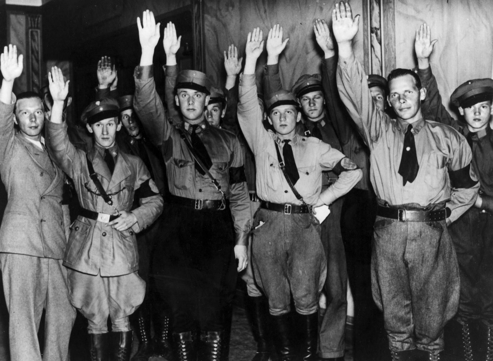Nazisterna vann striden i sjobo