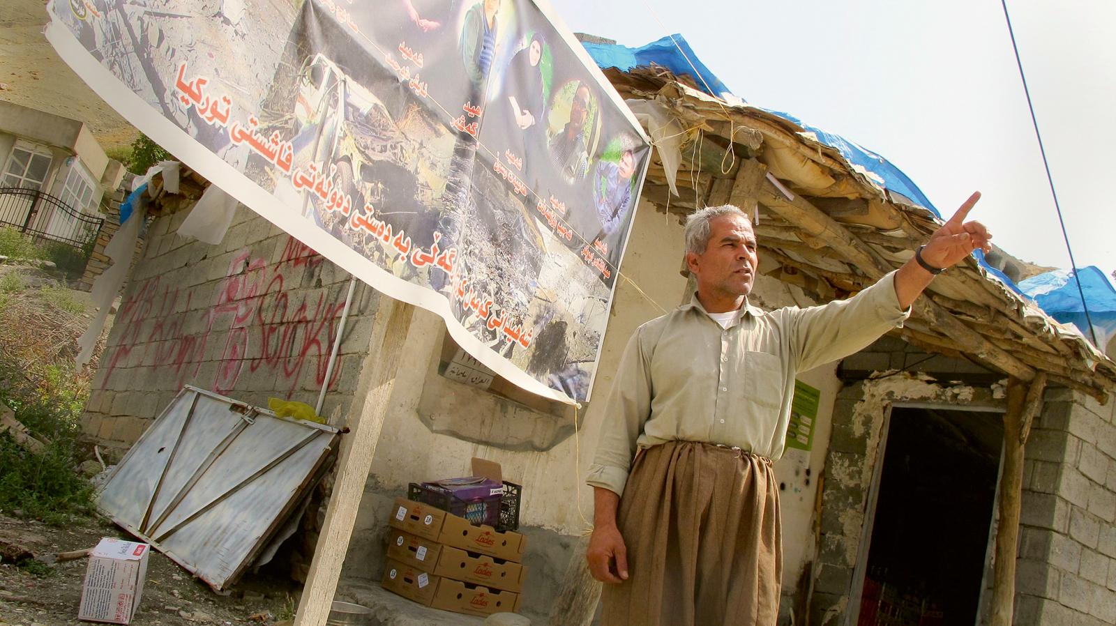 Vapenvila mellan iraks kurder