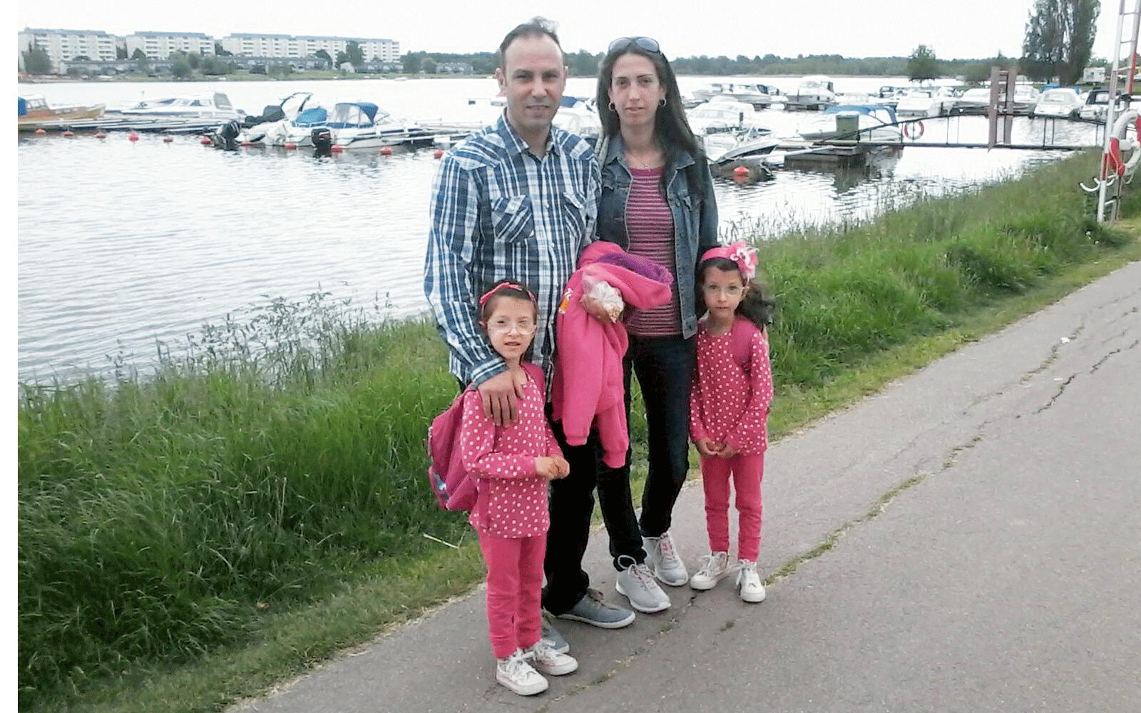 Familjen and fick flytthjalp