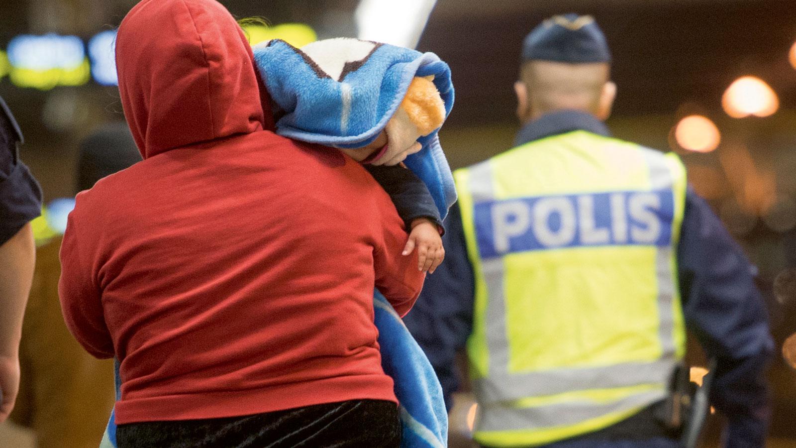 Polis sitt yrke trogen