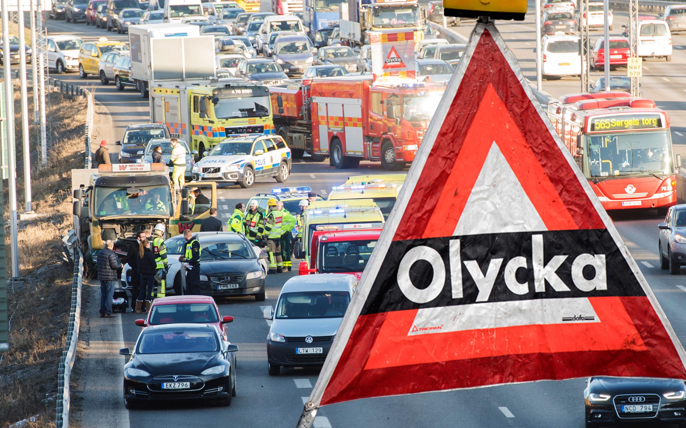 Dodstalen i trafiken minskar