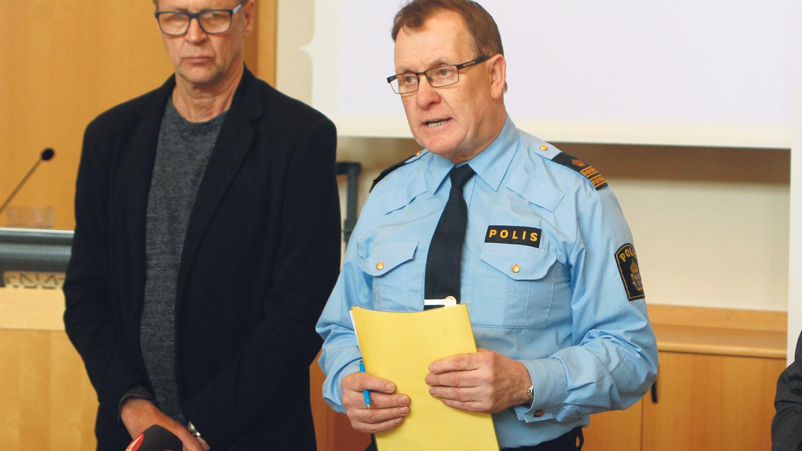 Polisen vill provocera mera