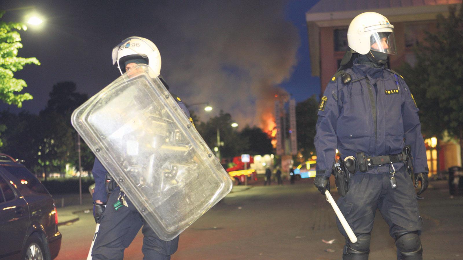 Fler poliser i goteborgs fororter