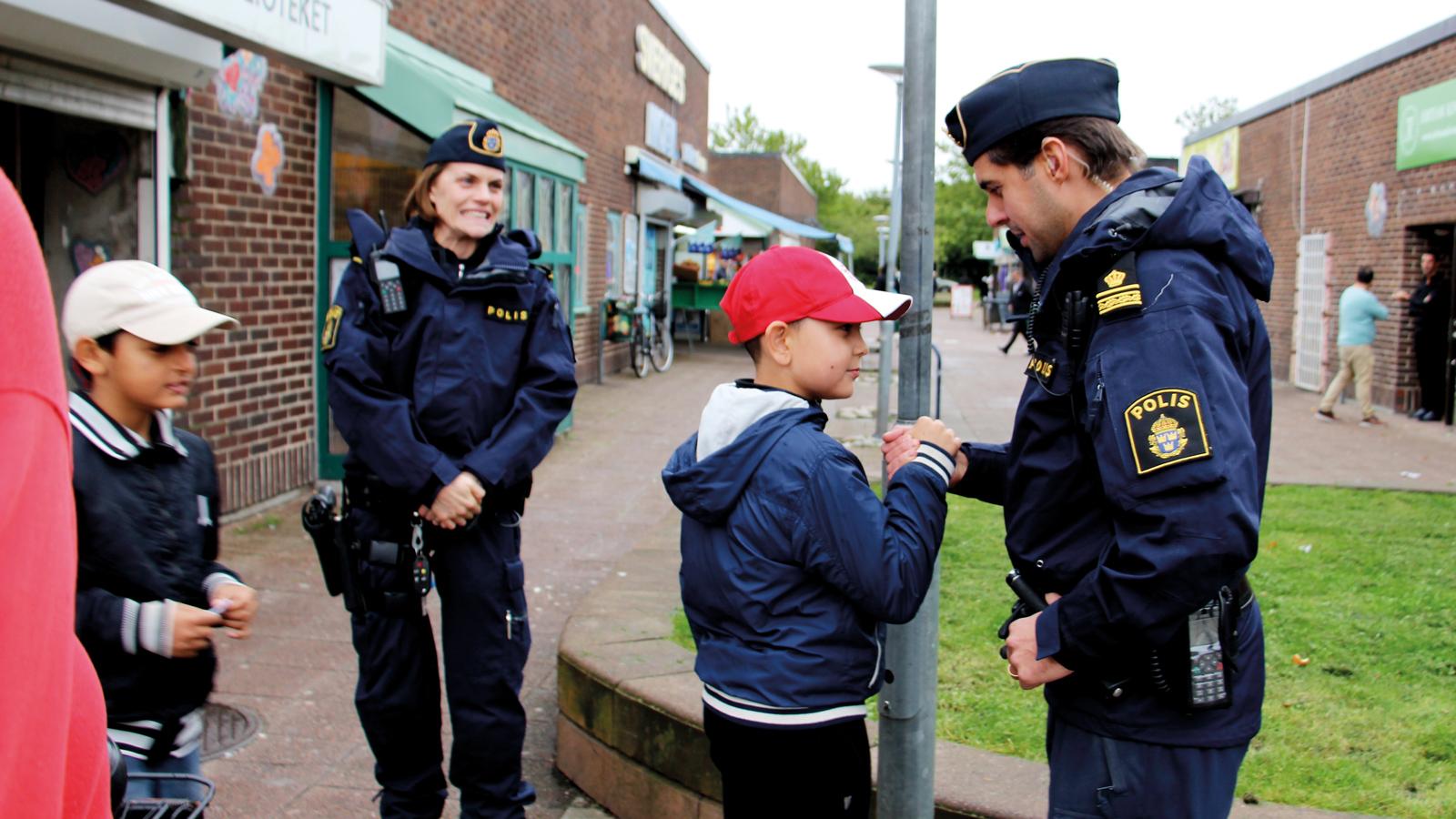Polisen vi kommer inte att kontrollera alla