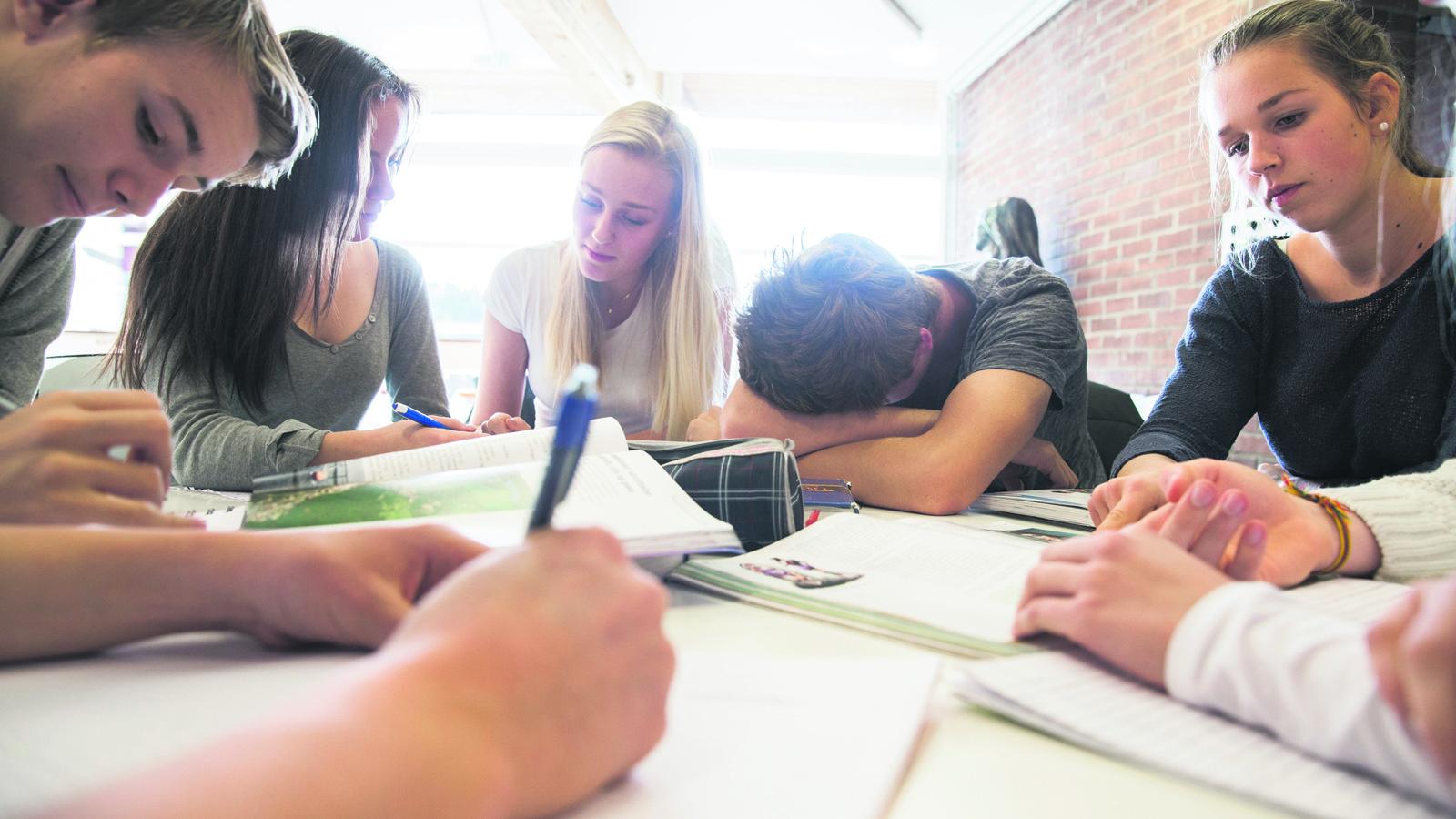 Stressen har okat i skolan