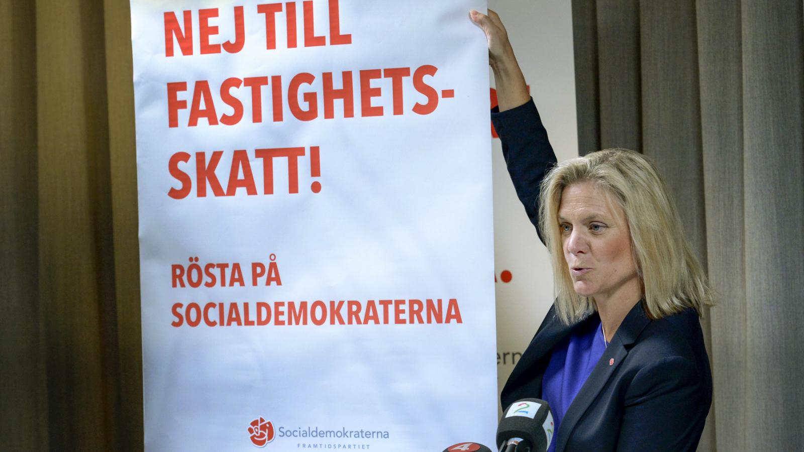 Socialdemokraternas fastighetsskatt 2