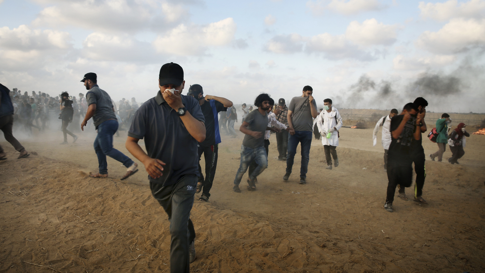 Bracklig vapenvila i gaza efter hamas ja