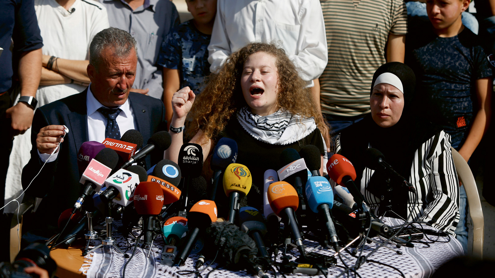 Palestinier vill hem till varje pris