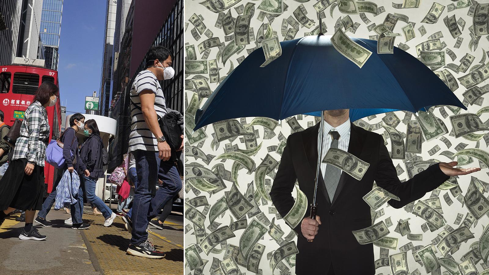 Krisåtgärden: Hongkongs medborgare får gratispengar