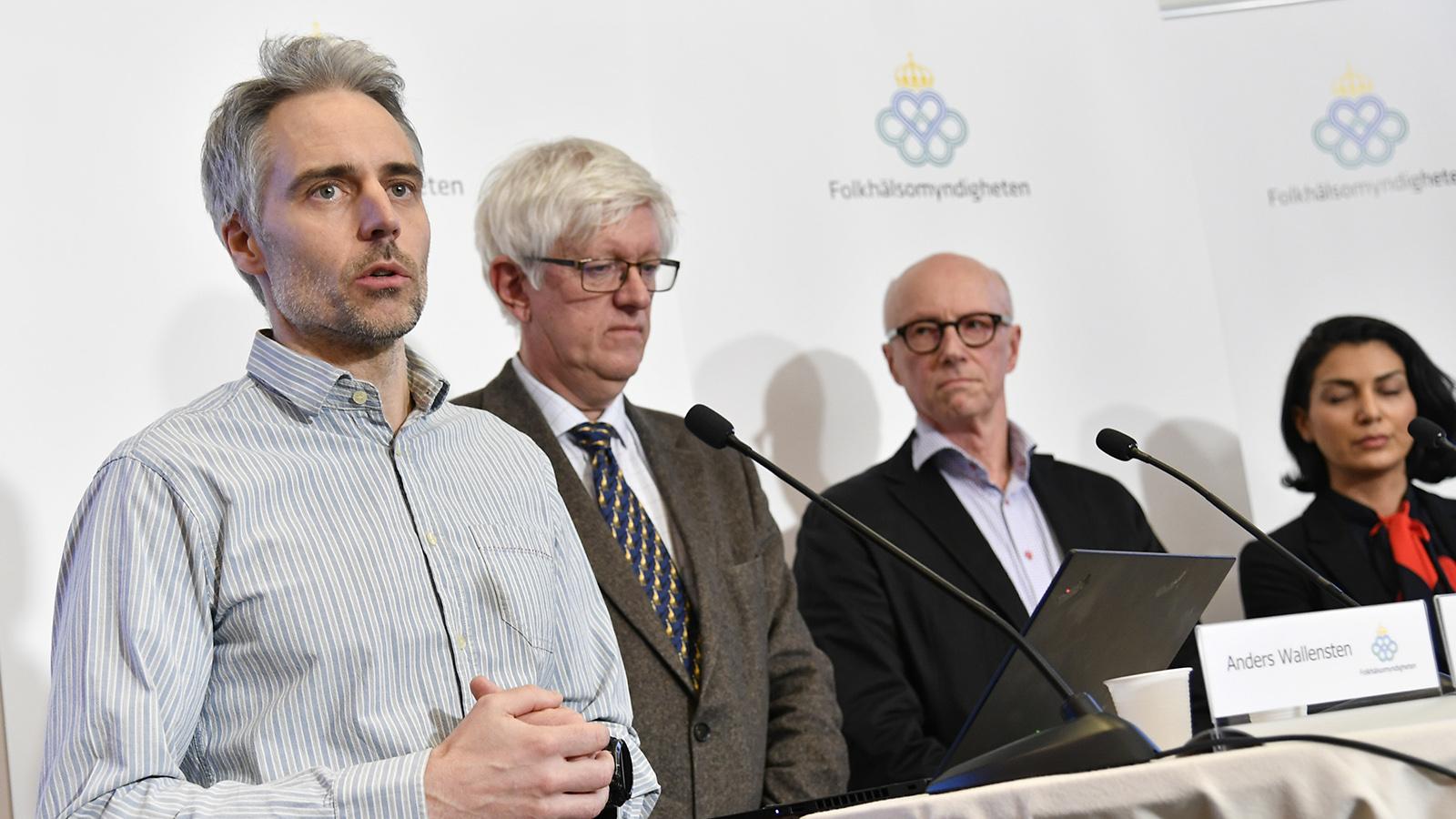 Folkhälsomyndigheten: Risken för coronaspridning i Sverige är mycket hög