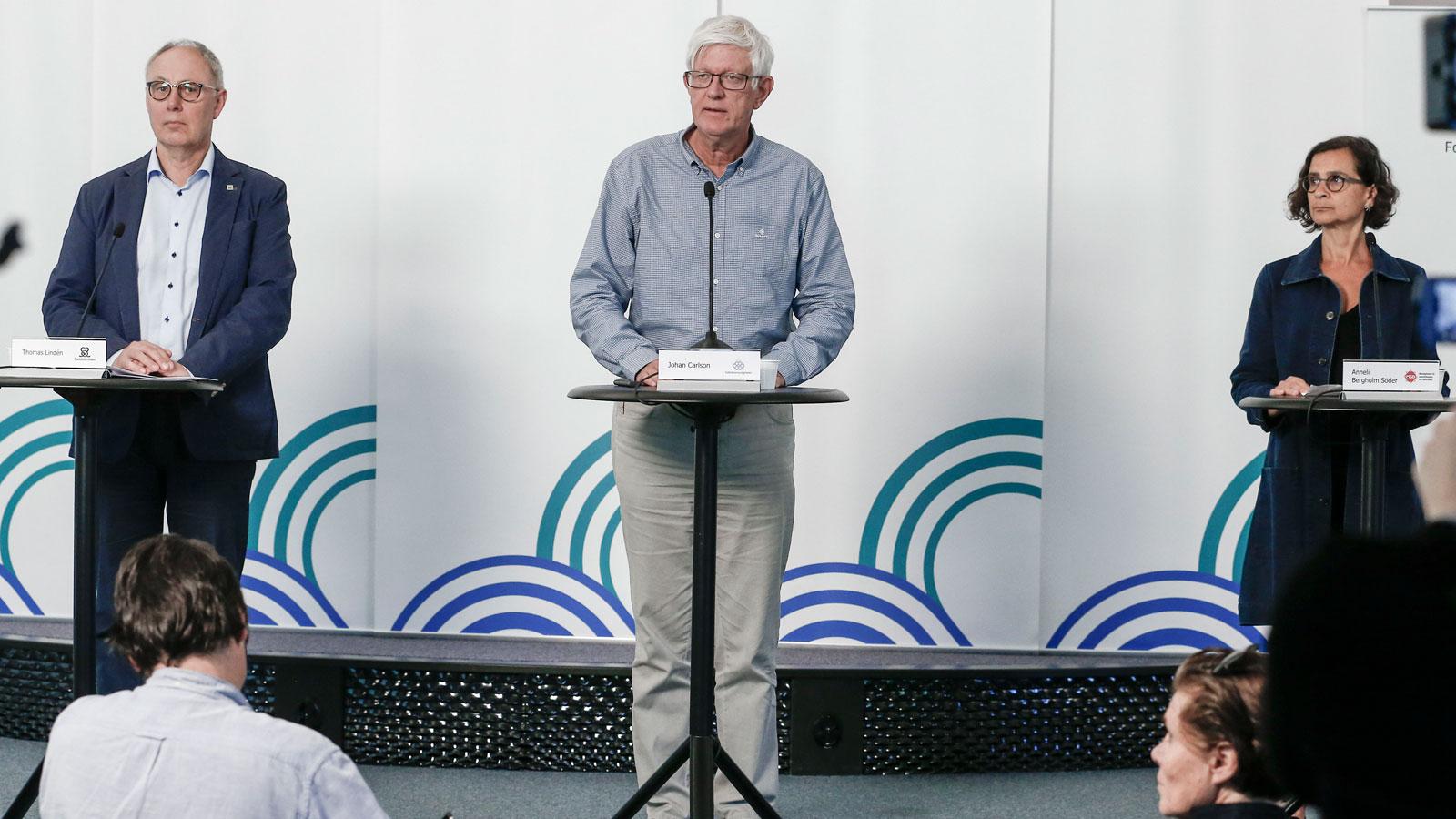 Johan Carlson Det Ar Allas Plikt Att Forhindra Smitta Etc
