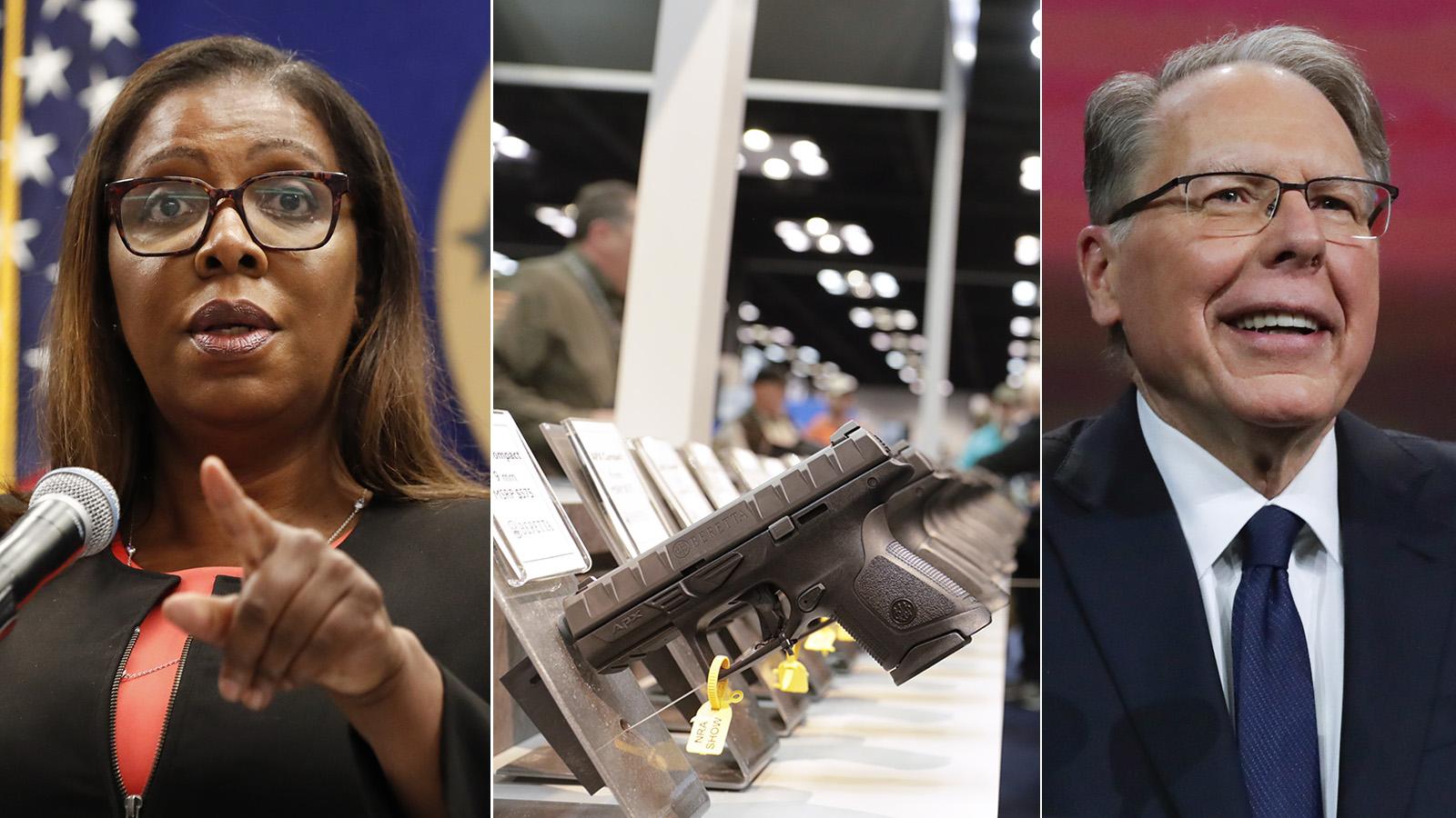 Delstaten New York stämmer NRA – vill upplösa organisationen