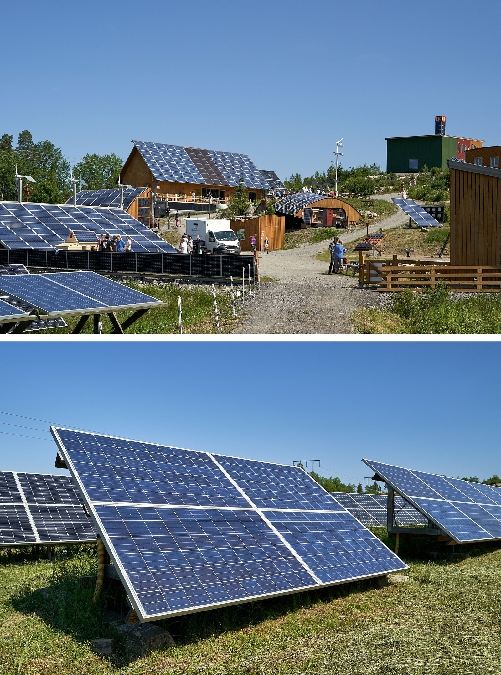 Bild på ETC Solpark och solceller
