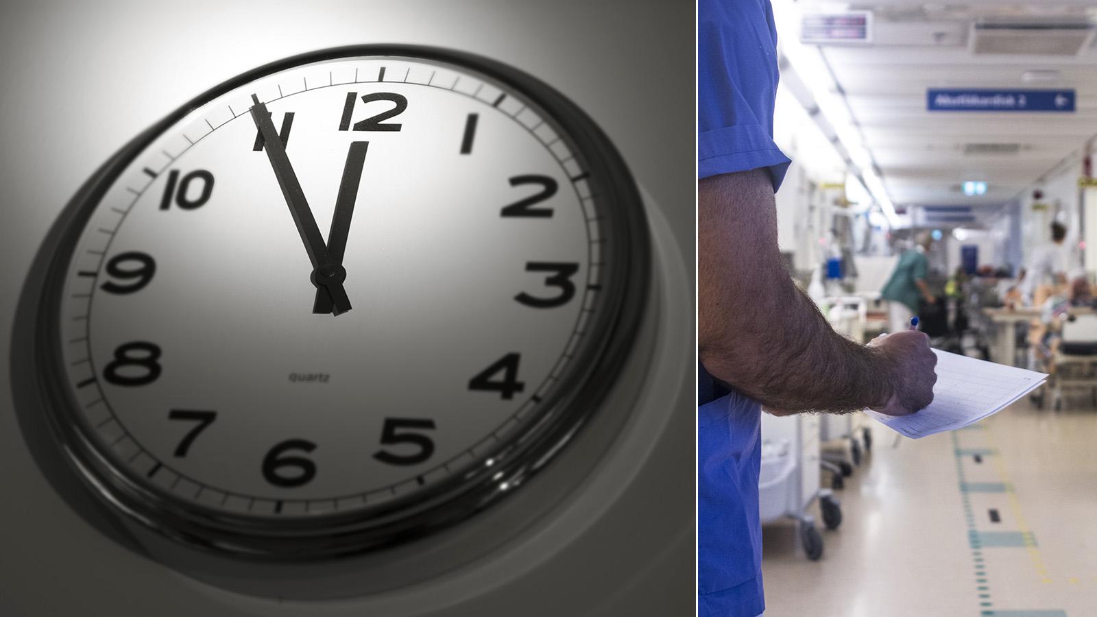 Sex timmars arbetsdag testas på värmländska sjukhus
