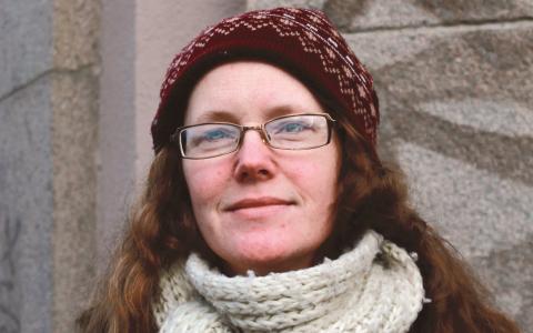 Eva Gustafsson, 37, stationschef på Göteborgs studentradio, Göteborg
