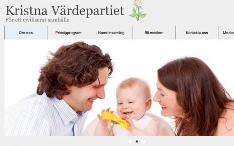 Kristna värdepartiet, som startades i januari, vill förbjuda alla aborter i Sverige.