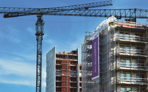 Nybyggarkommissionens rapport består av 63 olika åtgärder för att få igång bostadsbyggandet.  Bild: Tomas Oneborg/SvD/TT