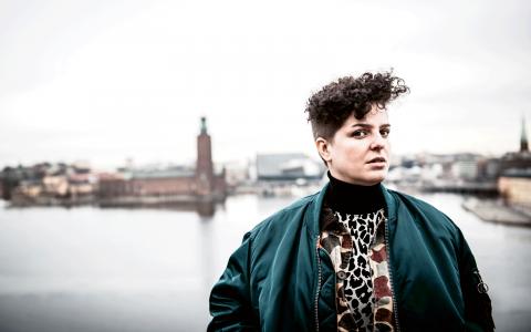 För Anso Lundin, som står bakom Min stora sorg, är helheten som artist viktig.  Bild: Thea Holmqvist