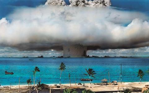 Dagens kärnvapen är mer än tusen gånger starkare än bomberna som föll över Hiroshima.   Bild: US Government