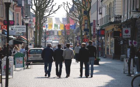 I Kristianstad planeras för två gallerior. Kritiker menar att det kommer att utarma handeln och förstöra gatubilden.  Bild: Kristianstads kommun/Claes Sandén