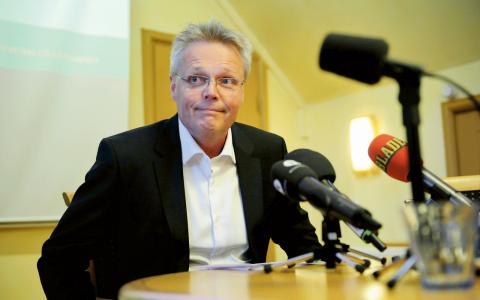 Jöran Hägglund, ny landshövding i Jämtland – och lobbyist åt kärnkraftsindustrin Bild: Erik Mårtensson/TT