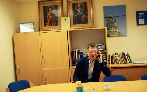 Diplomaten Tadeusz Iwanowski är inblandad i byggföretaget Pilgrim. Bolaget betalar inga skatter eller sociala avgifter.  Bild: Anna-Lena Norberg