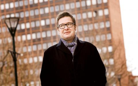 Kristian Lundberg. Bild: Ola Torkelsson