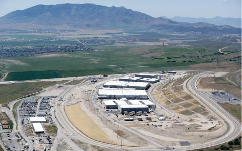 NSA:s anläggning i Utah kräver 7,5 miljoner liter kylvatten – varje dag.  Bild: Rick Bowmer/AP/TT