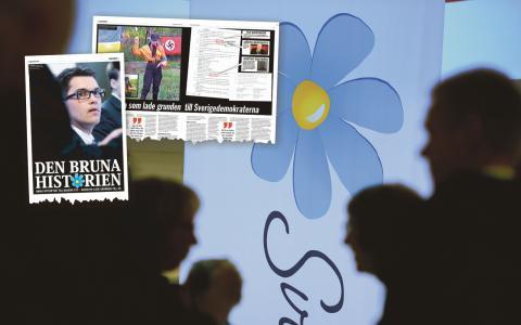 """""""Artikeln är oseriös"""", menar Martin Kinnunen, pressansvarig hos Sverigedemokraterna.  Bild: Janerik Henriksson/TT"""