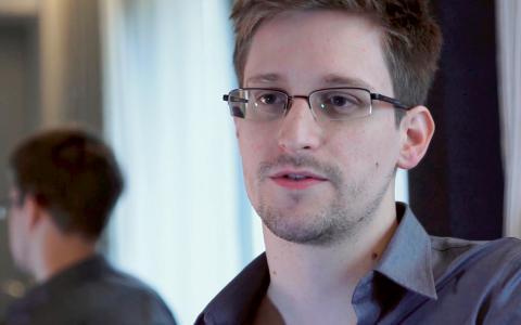 Edward Snowden. Bild: AP