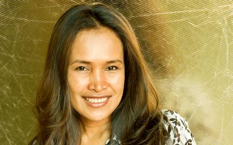 Somaly Mam såldes som sexslav men lyckades fly. Nu driver hon en organisation som har räddat tusentals unga flickor från trafficking.  Bild: Donald Boström