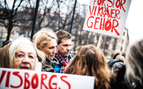 Klicka på det gråa plustecknet högst upp till vänster för att se fler bilder. Bild: Thea Holmqvist