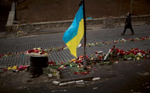 """""""Att jämföra dagens Ryssland med Nazi-Tyskland och kalla Viktor Janukovytj för en Quisling, är att misstolka historien"""", skriver Pierre Schori.  Bild: Emilio Morenatti/AP"""
