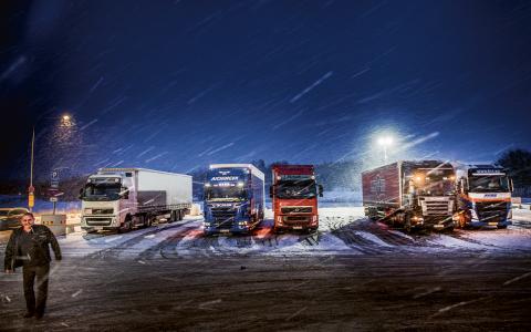 Den dieseldrivna transportindustrin får störst skattesubventioner.  Bild: Tomas Oneborg/TT/SVD