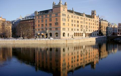 I Rosenbad sammanträder regeringen och statsministern har sitt tjänsterum där.   Bild: Holger Ellgard / Creative Commons