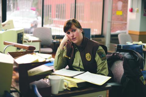 Tv-serien Fargo, som har premiär i veckan, utspelas i staden med samma namn i den amerikanska mellanvästern.  Bild: Chris Large/FX