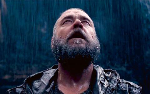 Russell Crowe är redo för syndafloden. Bild: Paramount Pictures