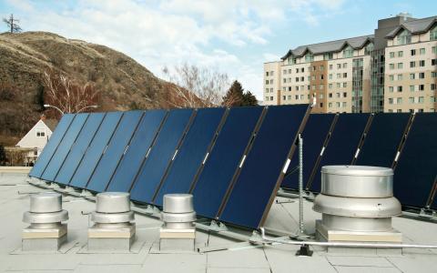 Det här är inte solceller.