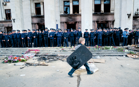Odessa, Ukraina. Bild: Vadim Ghirda/AP