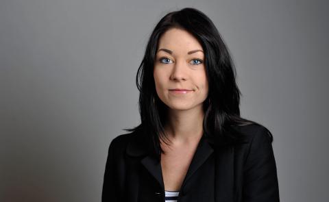 Maria Ferm, Miljöpartiets migrationspolitisk talesperson. Bild: Press
