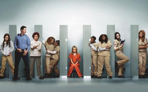 Orange is the new black var Netflix andra stora egenproducerade serie. Ida Kjellin hoppas på en kall och blöt försommar inför premiären av säsong två.  Bild: Netflix