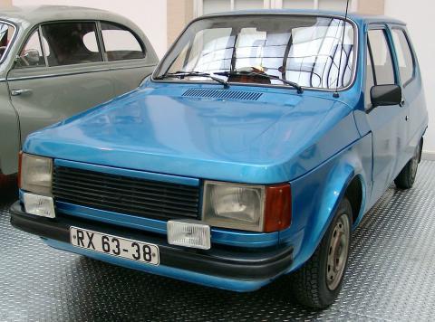 P610 – den Östtyska golfen– var tänkt som en ersättare till Trabanten. En modern bil som hade stora likheter med Volkswagen Golf. Men projektet lades ner 1979. Bild: Rudolf Strickler/CC BY-SA 3.0