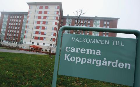 """Skandal. """"DN:s artikel om Carema synliggjorde en dittills okänd politisk aktör: riskkapitalisten"""", skriver Lars Taxén. Bild: Bertil Ericson/TT"""
