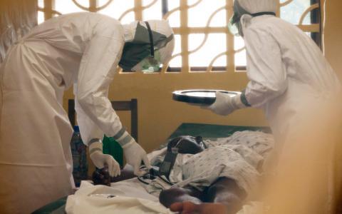 Västafrika plågas just nu av det värsta ebolautbrottet i historien. Bild: TT