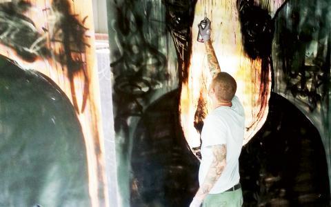Under tolv dagar ska konstformen lyftas. Föreläsningar blandas med olika utställningar och utomhusväggar ska förvandlas. Bild: Press/Mirja Mattsson