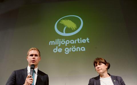 Förlorade röster. Trots att miljöfrågan var viktig för unga blev Miljöpartiet bara tredje största parti bland förstagångsväljarna.  Bild: Fredrik Sandberg/TT