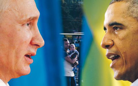 Ryssland och USA befinner sig återigen på kollisionskurs, skriver Johan Ehrenberg.  Bilder: TT