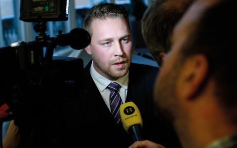 Mattias Karlsson (SD).  BILD: Claudio Bresciani/TT