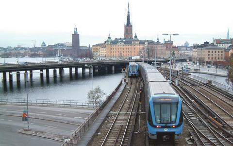 Nolltaxa. Det krävs bara en väldigt liten skattehöjning för nolltaxa, menar Alex Berthelsen från organisationen Planka.nu.  Bild: SL